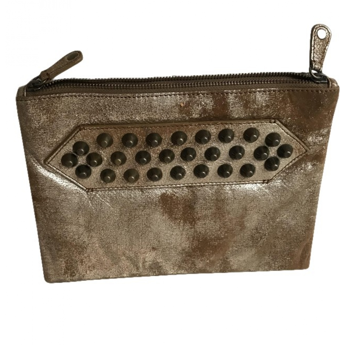 Zadig & Voltaire \N Gold Leather Purses, wallet & cases for Women \N