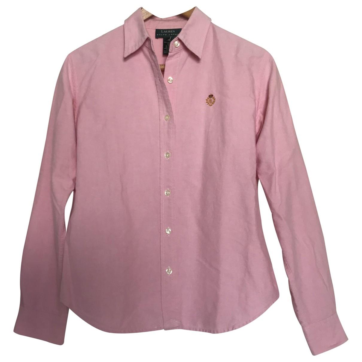 Lauren Ralph Lauren \N Pink Cotton  top for Women M International