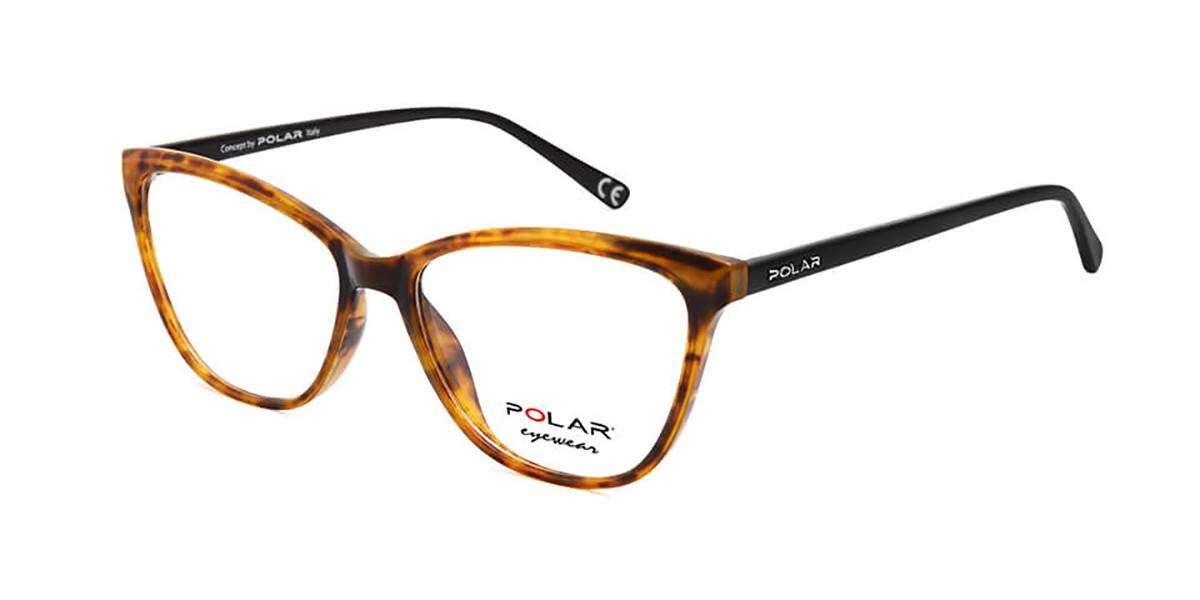 Polar PL 1957 428 Men's Glasses Tortoise Size 53 - Free Lenses - HSA/FSA Insurance - Blue Light Block Available