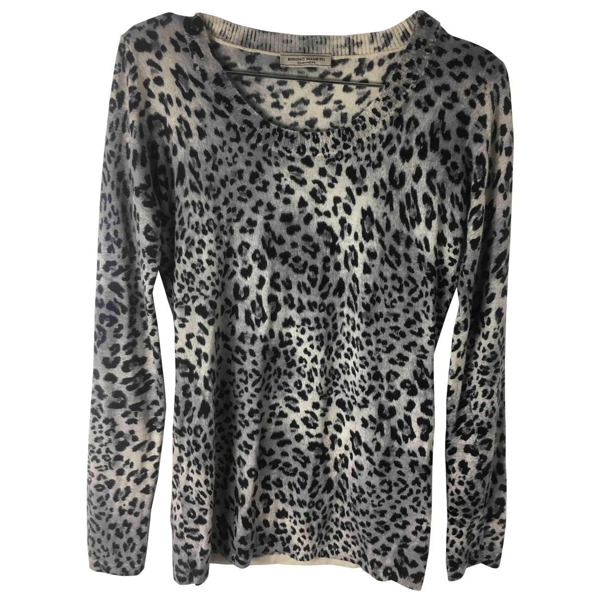 Bruno Manetti \N Grey Cashmere Knitwear for Women S International