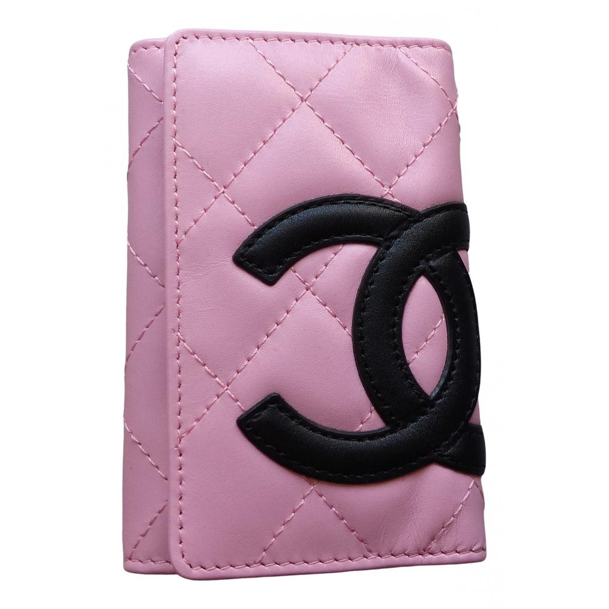 Llavero Cambon de Cuero Chanel