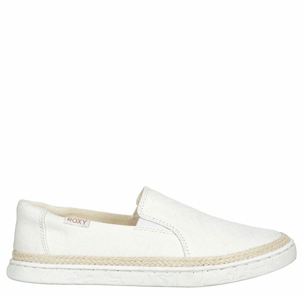 Roxy Womens Talli Slip-On Jute Shoes Sneakers