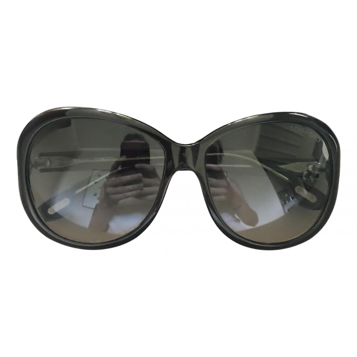 Tom Ford \N Sonnenbrillen in  Anthrazit Kunststoff