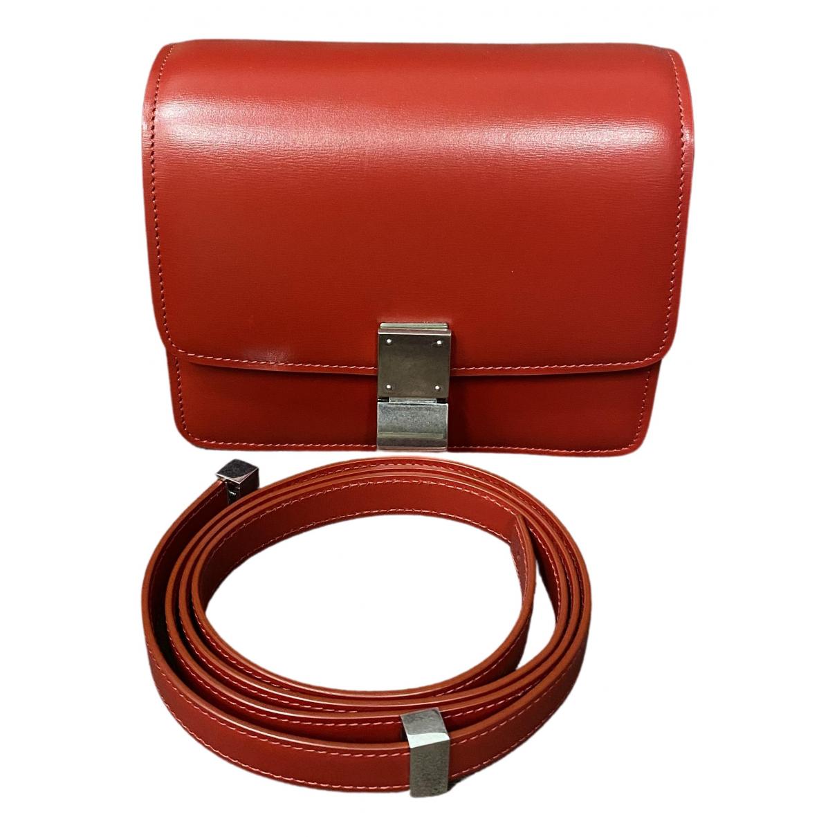 Celine - Pochette Classic pour femme en cuir - rouge
