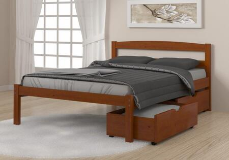 575-FE_505-E Full Econo Bed With Dual Under Bed Drawers Espresso