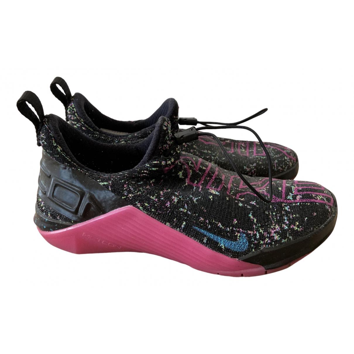 Nike - Baskets   pour femme en toile - noir