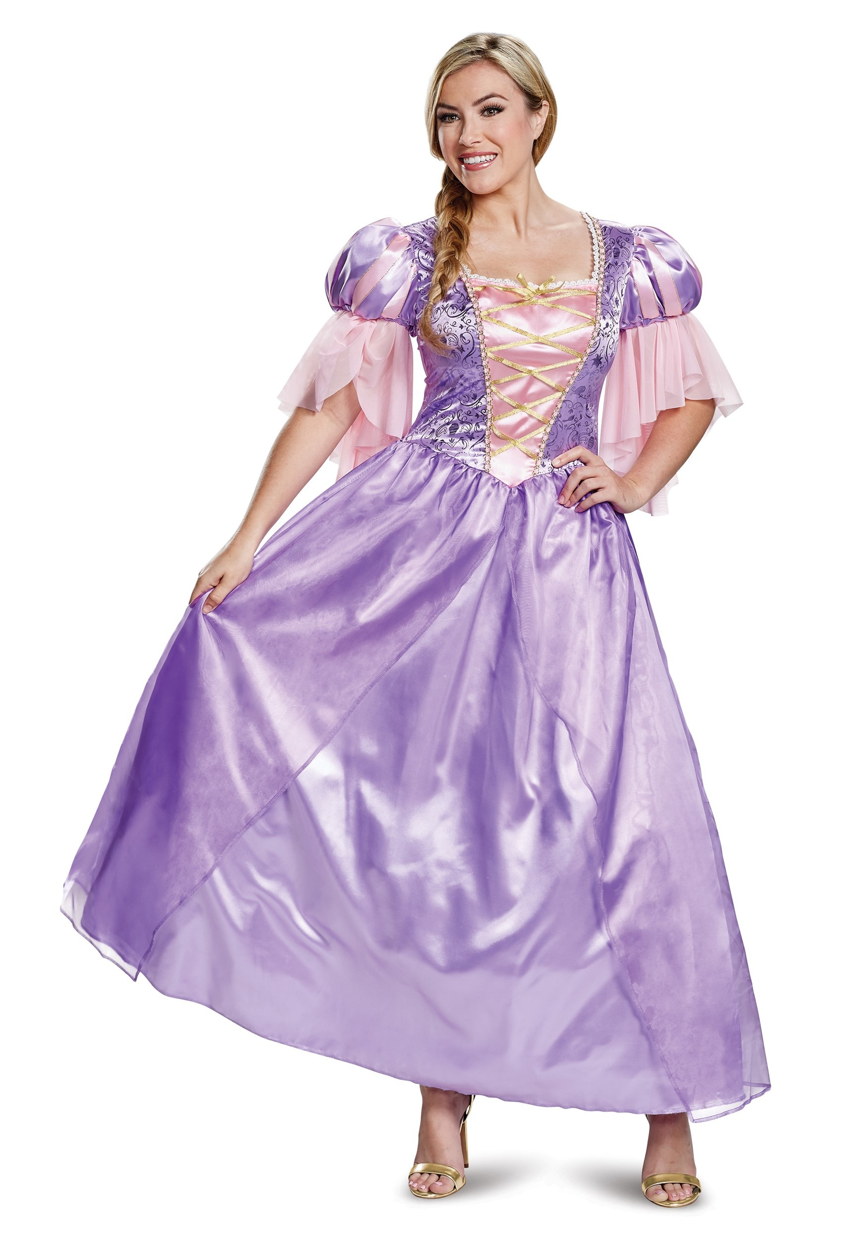 Adult Tangled Deluxe Rapunzel Costume   Rapunzel Dress Womens