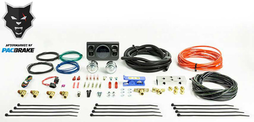 Pacbrake HP10272 Paddle Valve In Cab Control Kit For Independent Air Spring Activation