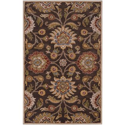 Caesar CAE-1051 3' x 12' Runner Traditional Rug in