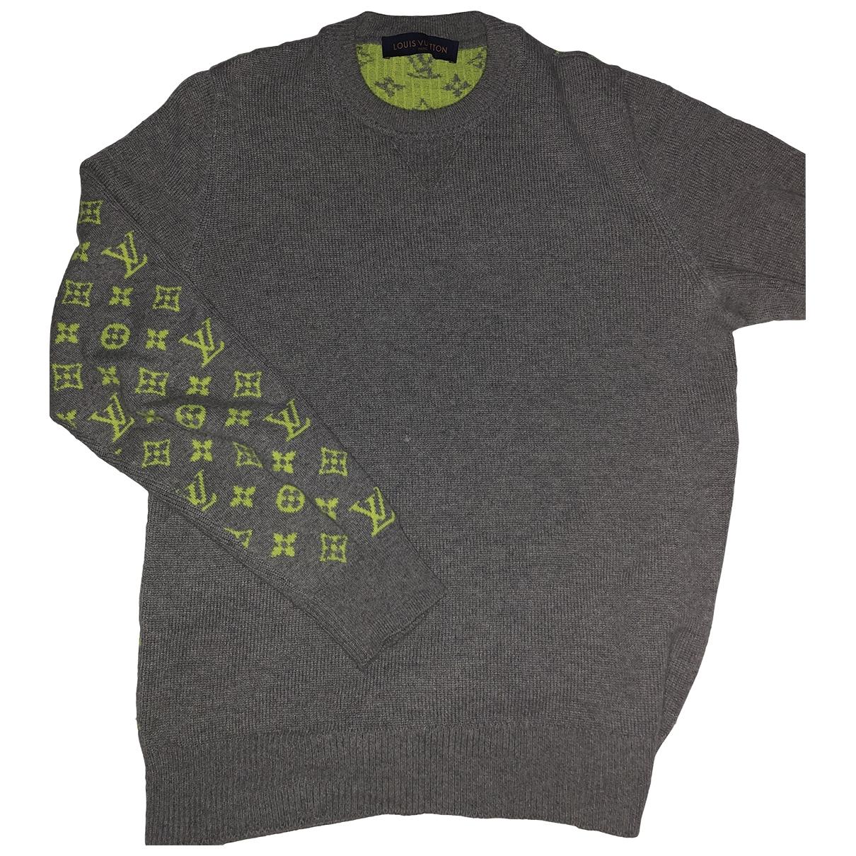 Louis Vuitton \N Pullover.Westen.Sweatshirts  in  Grau Kaschmir