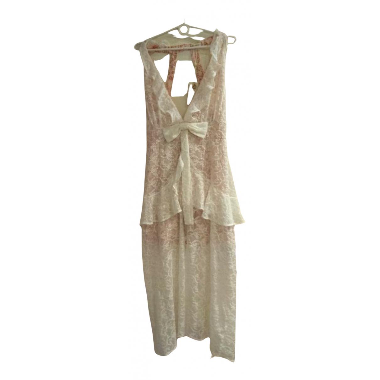 For Love & Lemons \N Kleid in  Bunt Baumwolle