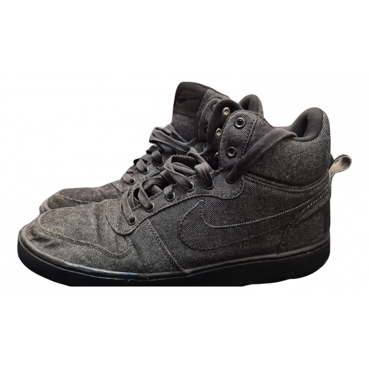 Nike SB Dunk  Sneakers in  Blau Leinen