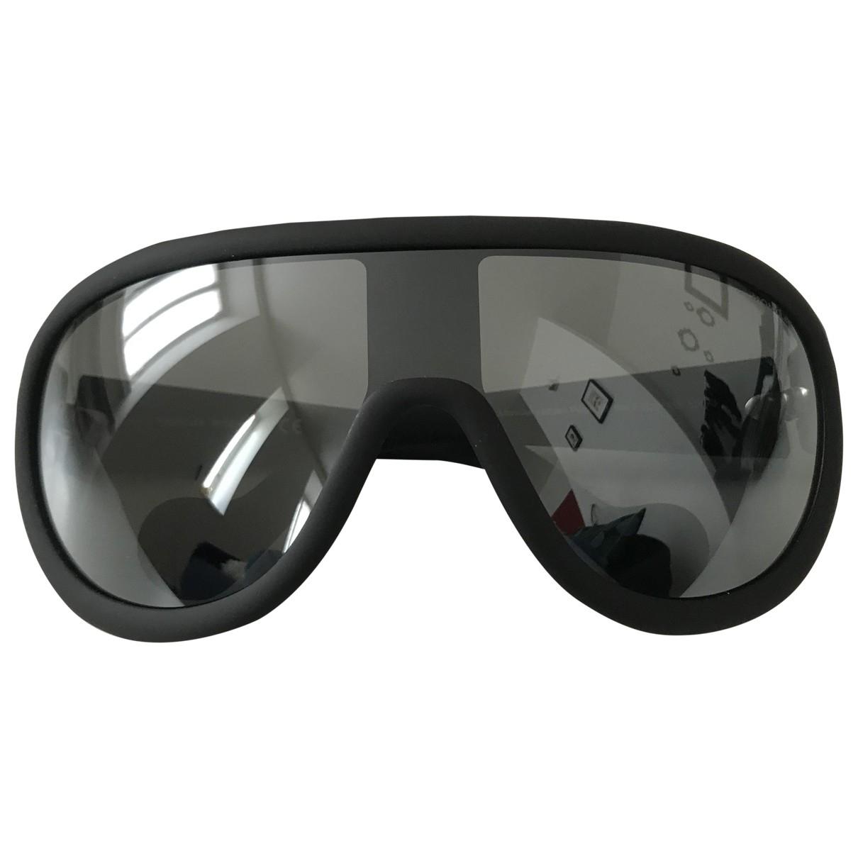 Moncler \N Sonnenbrillen in  Anthrazit Kunststoff