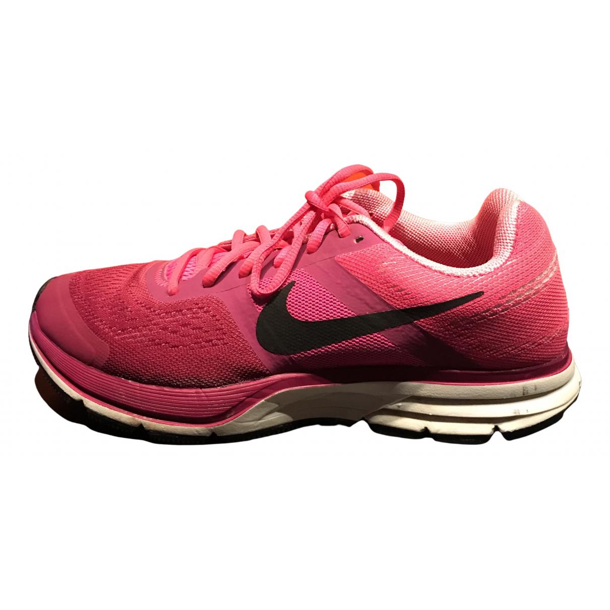 Nike - Baskets Air Zoom Pegasus pour femme en toile - violet