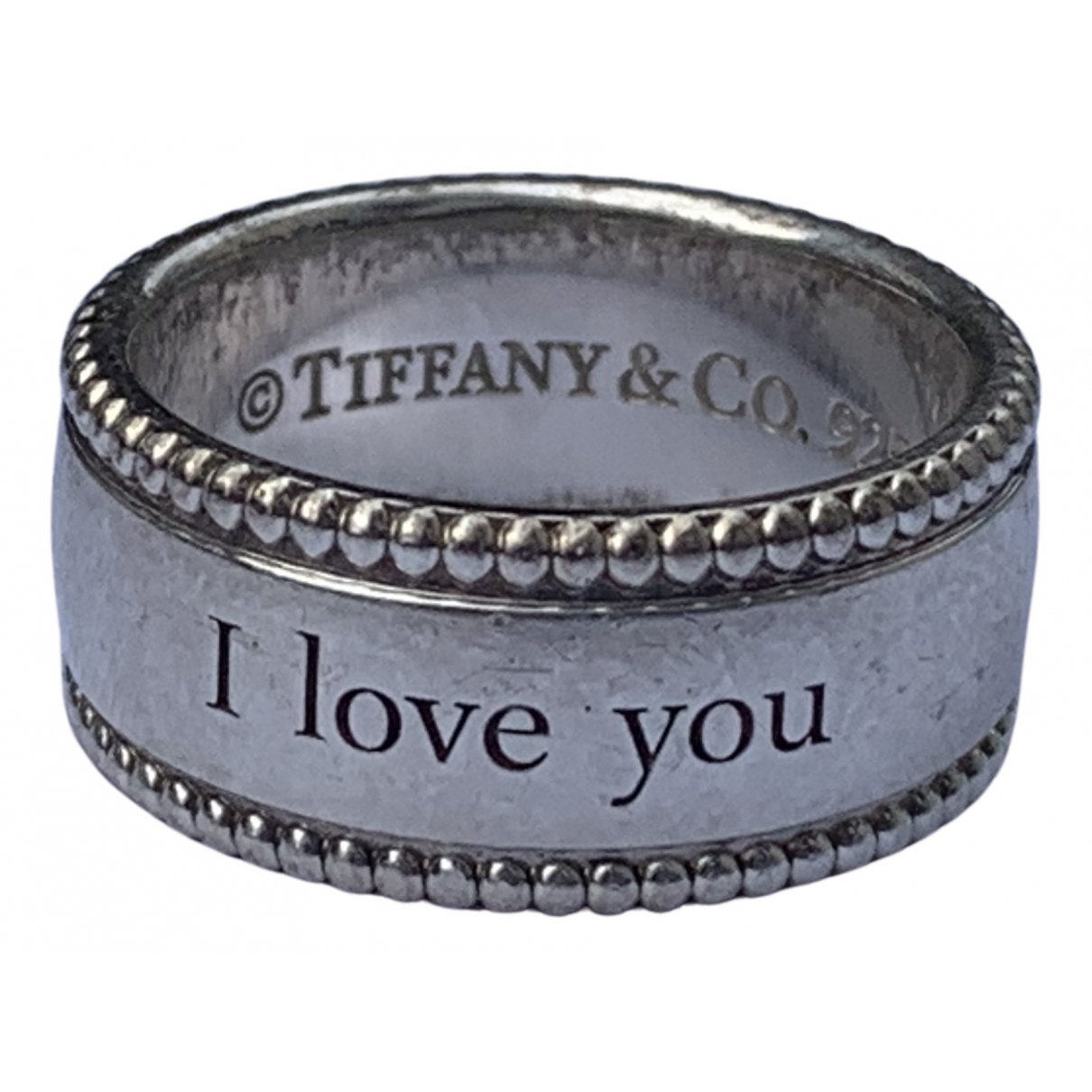 Tiffany & Co \N Ring in  Silber Silber