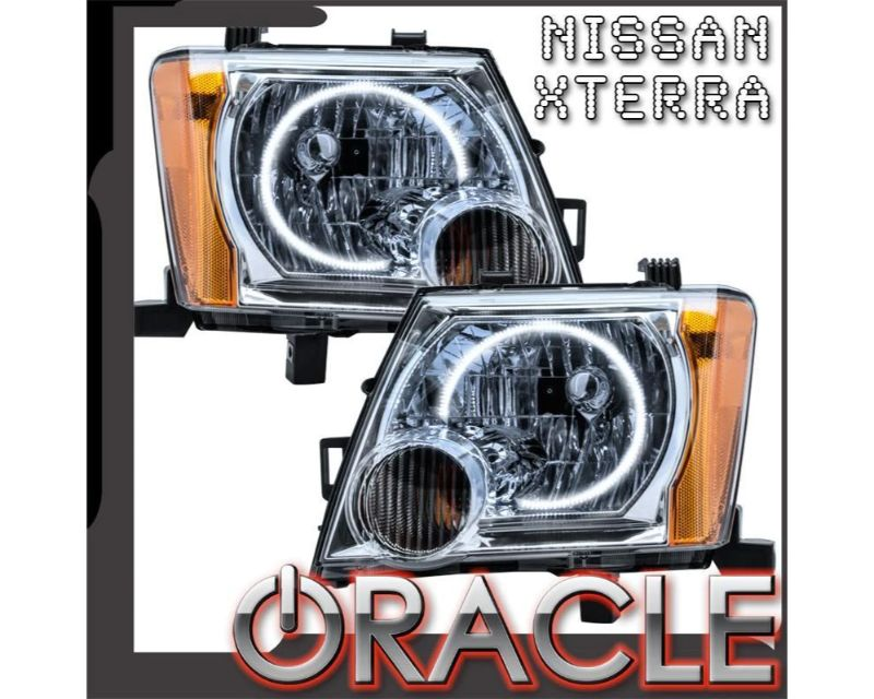 Oracle Lighting 8903-003 Pre-Assembled Headlights LED Halo Kit Red Nissan Xterra 2005-2014