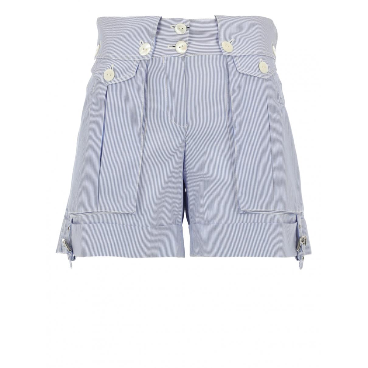 Dolce & Gabbana \N Shorts in  Blau Baumwolle