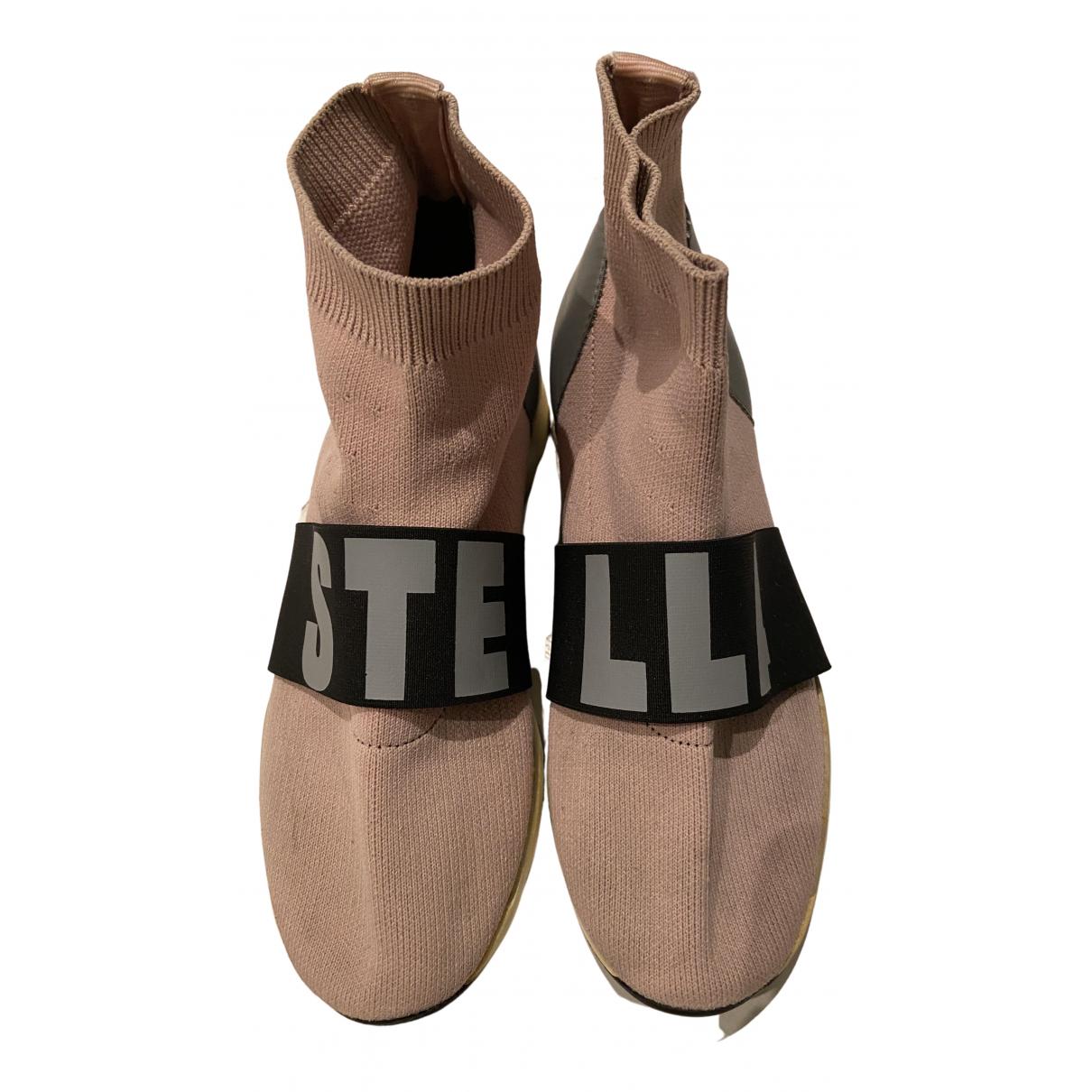 Stella Mccartney \N Sneakers in  Rosa Kautschuk