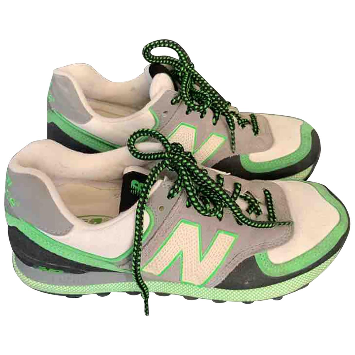 New Balance - Baskets   pour homme en caoutchouc - vert