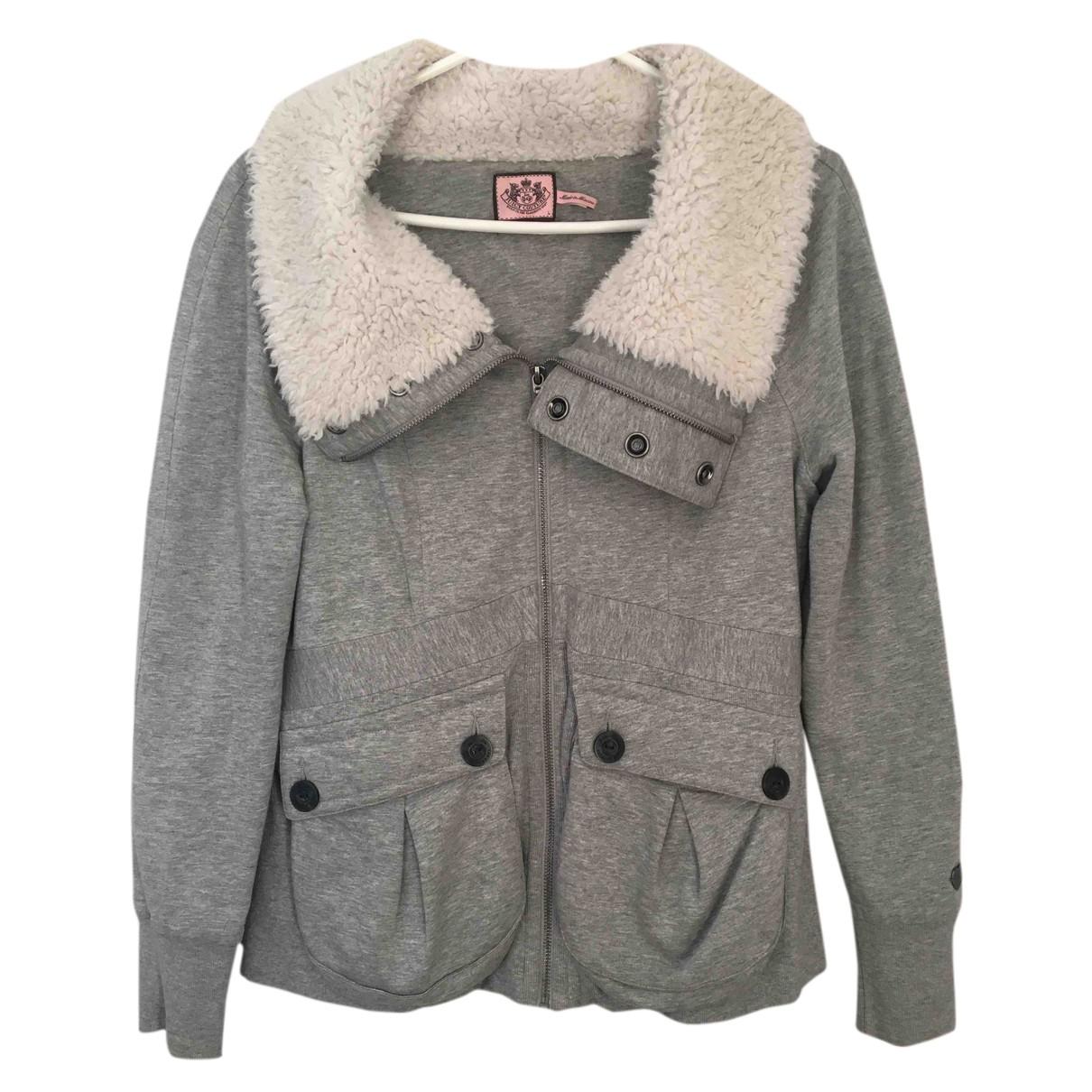 Juicy Couture - Veste   pour femme en coton - gris