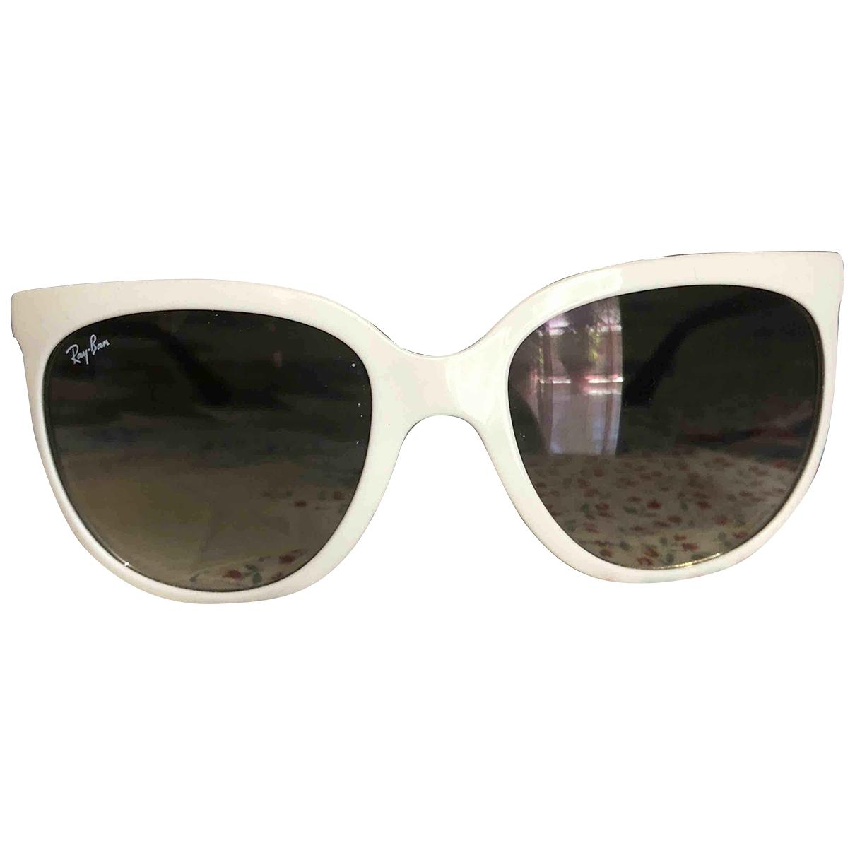 Ray-ban Erika White Sunglasses for Women \N