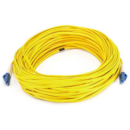 Câble fibre optique, LC/LC, mode unique, duplex (type 9/125) - jaune - Monoprice® - 30m