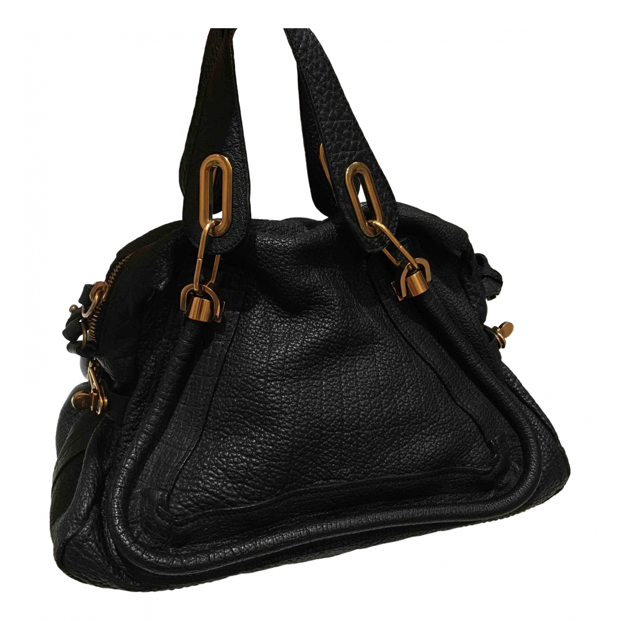 Chloé Paraty Black Leather handbag for Women \N