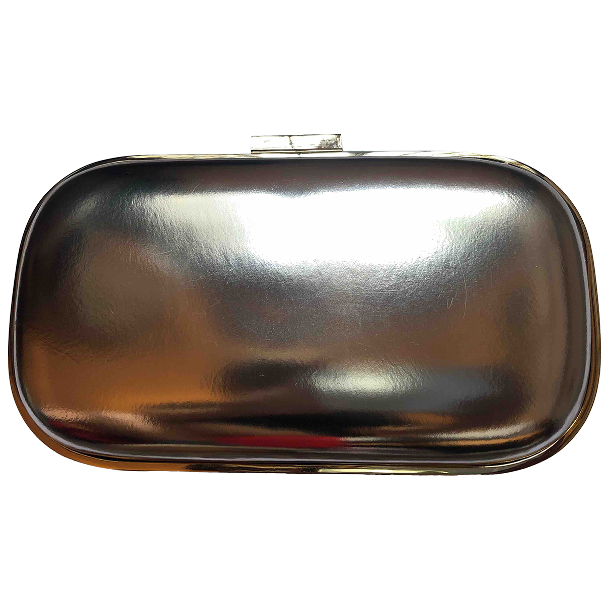 Anya Hindmarch N Gold Leather Clutch bag for Women N