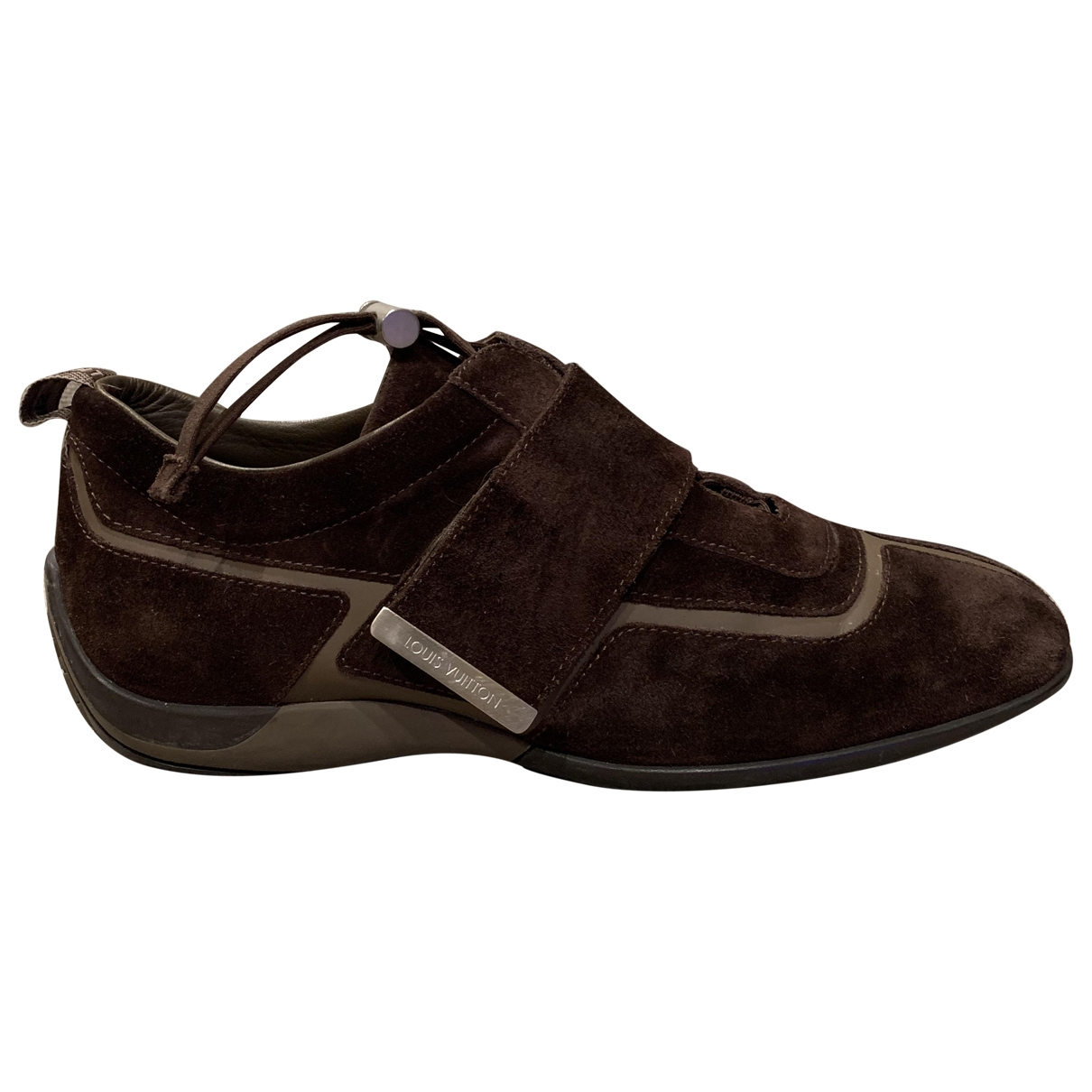 Louis Vuitton \N Brown Suede Trainers for Men 41.5 EU