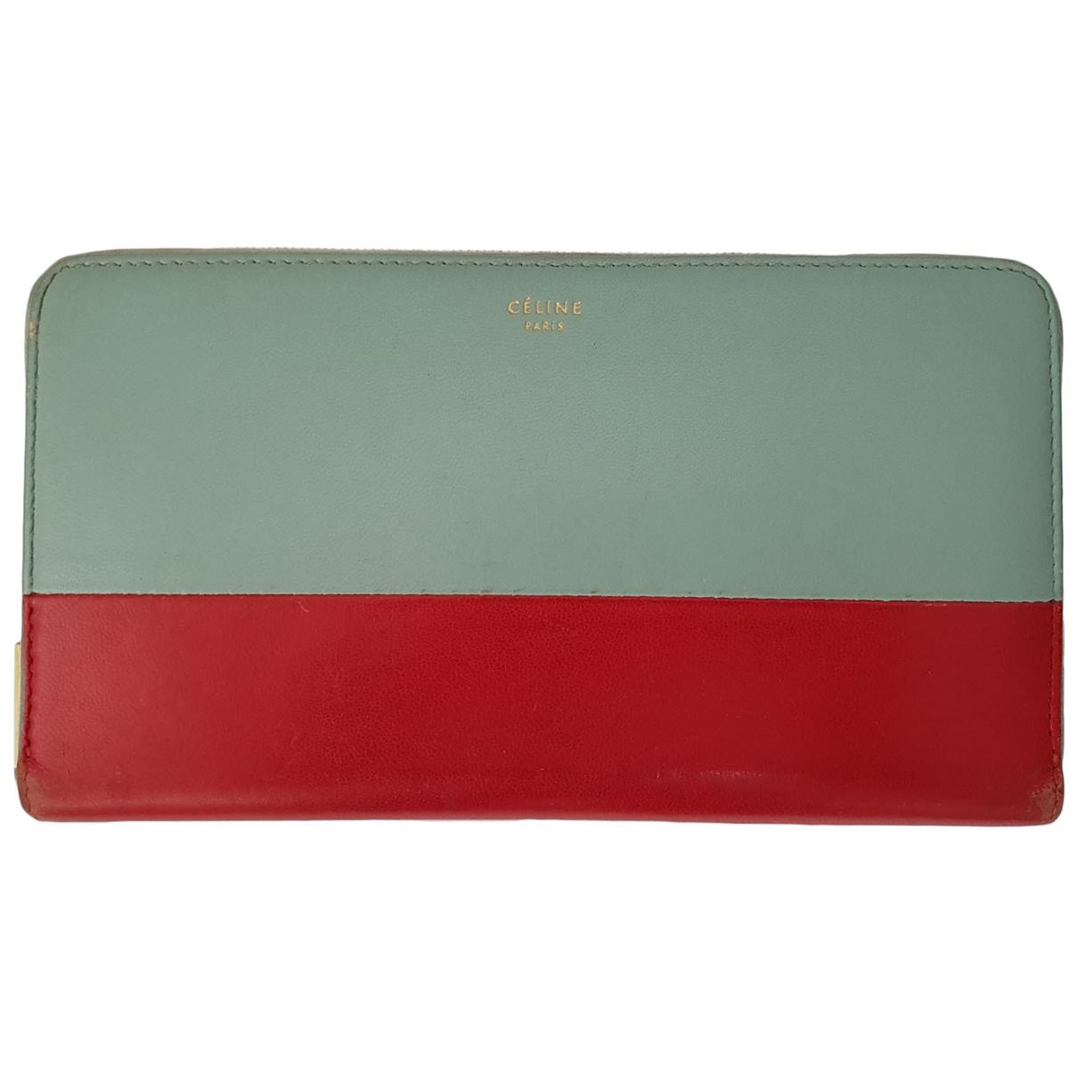 Celine - Portefeuille   pour femme en cuir - multicolore