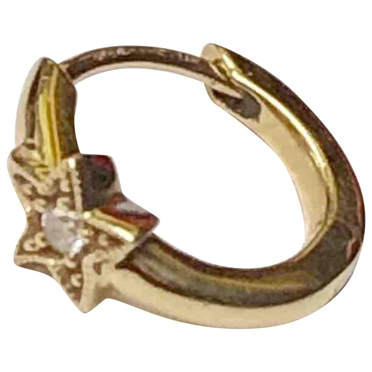 Stone Paris - Boucles doreilles   pour femme en or jaune - dore