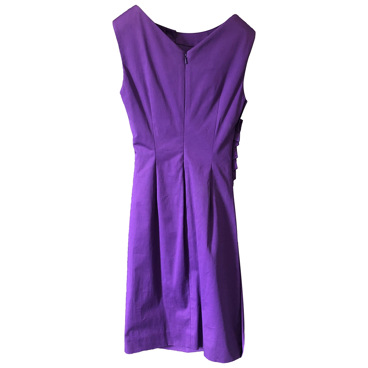 Christian Dior \N Kleid in  Lila Polyester
