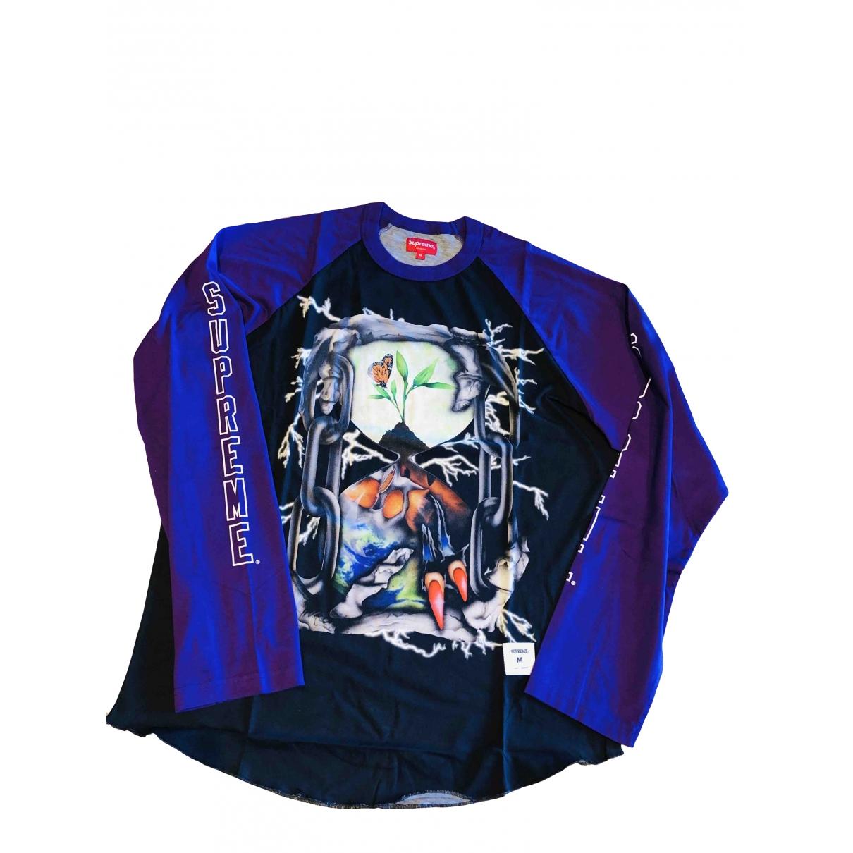 Supreme \N T-Shirts in  Lila Baumwolle