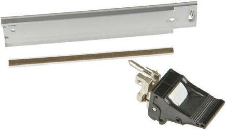 nVent Schroff Plug-in Unit, 3U, 8HP, Height 128.4mm, Black