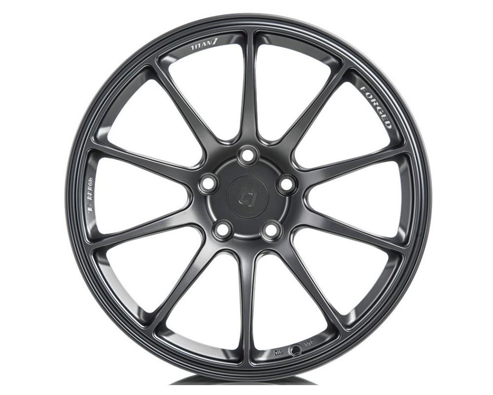Titan 7 TR101890028511473ST T-R10 Wheel 18x9 5x114.3 28mm Satin Titanium