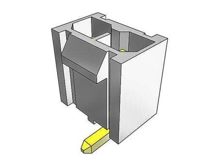Samtec , IPBD Male Crimp Connector Housing, 4.19mm Pitch, 8 Way, 2 Row (50)