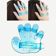 Shampoo Massagepinsel mit Fuenf Finger