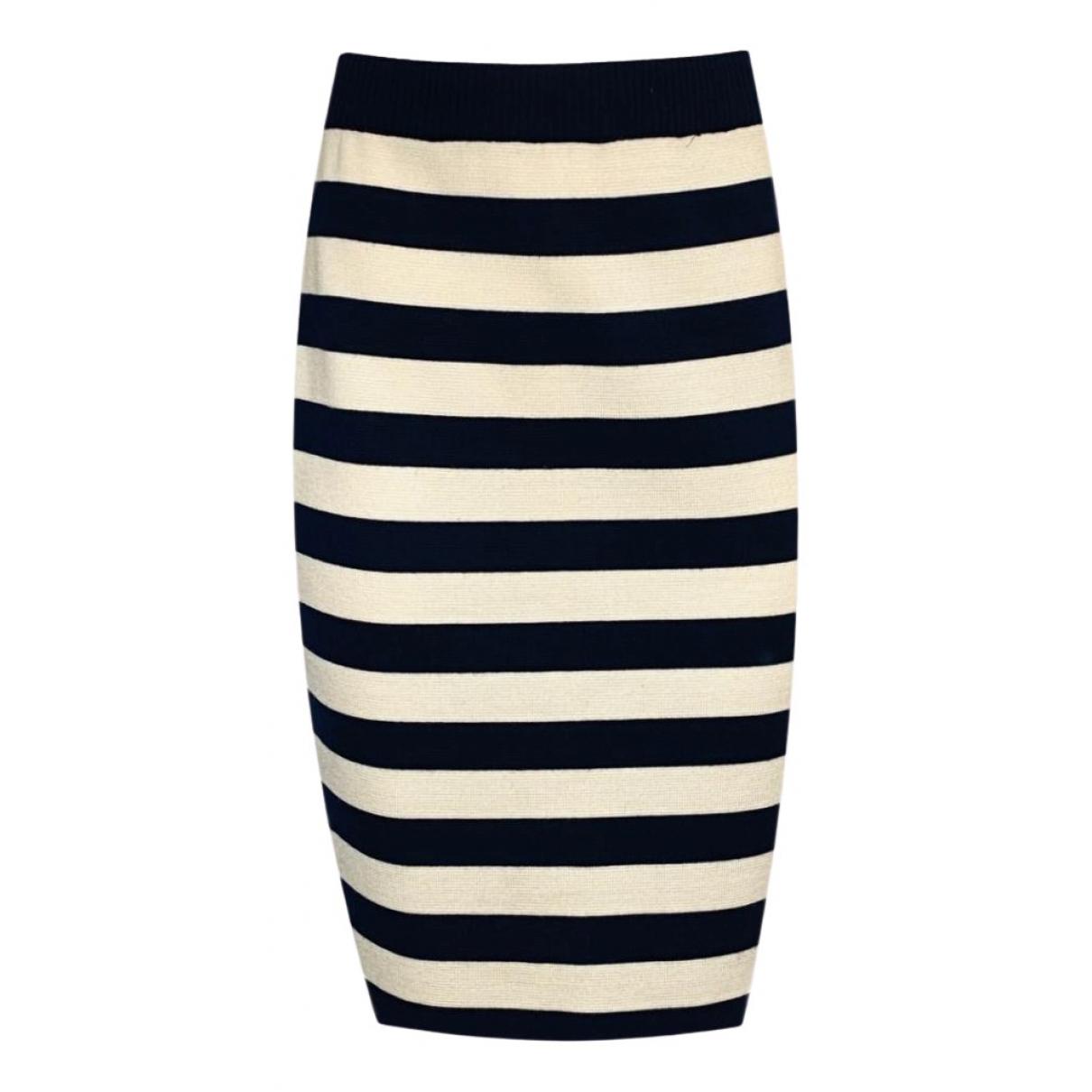 Yves Saint Laurent N Black Wool skirt for Women 40 FR