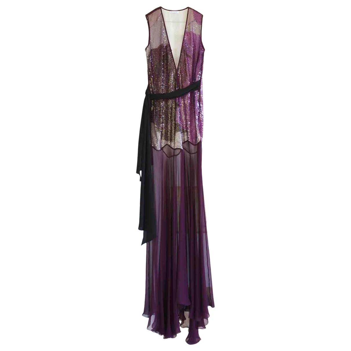Maxi vestido de Seda Vionnet