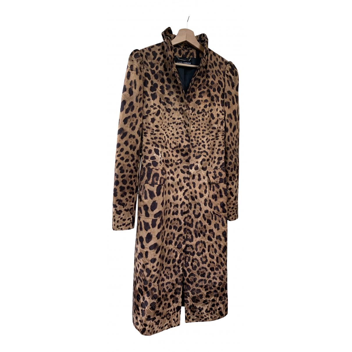 Dolce & Gabbana - Manteau   pour femme en coton