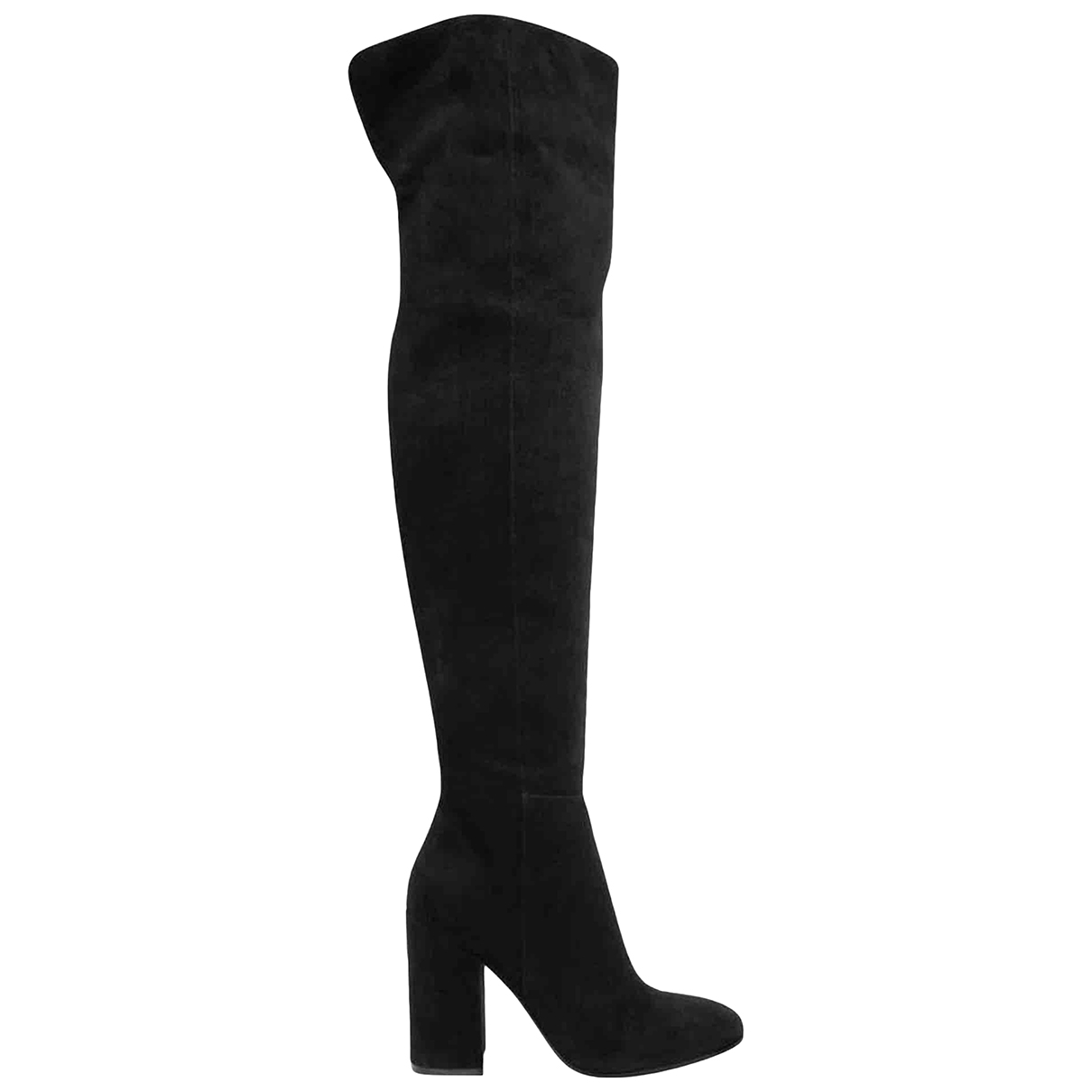 Gianvito Rossi \N Black Suede Boots for Women 39 EU