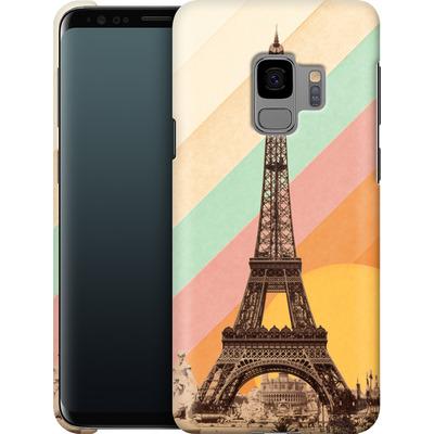Samsung Galaxy S9 Smartphone Huelle - Eiffel Tower Rainbow von Florent Bodart
