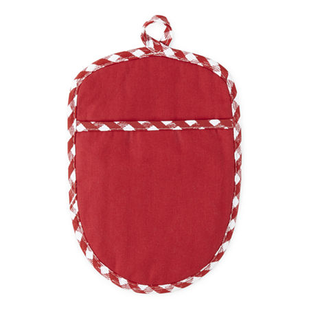 Harbor Home Pot Holder, One Size , Red