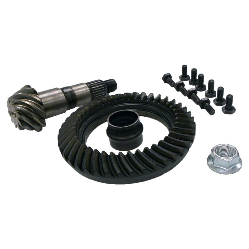 Crown Automotive 68019333AB Jeep Replacement Ring & Pinion Kit for Various Jeep Vehicles w/ Dana 30 Front Axle; 3.73 Ratio Front