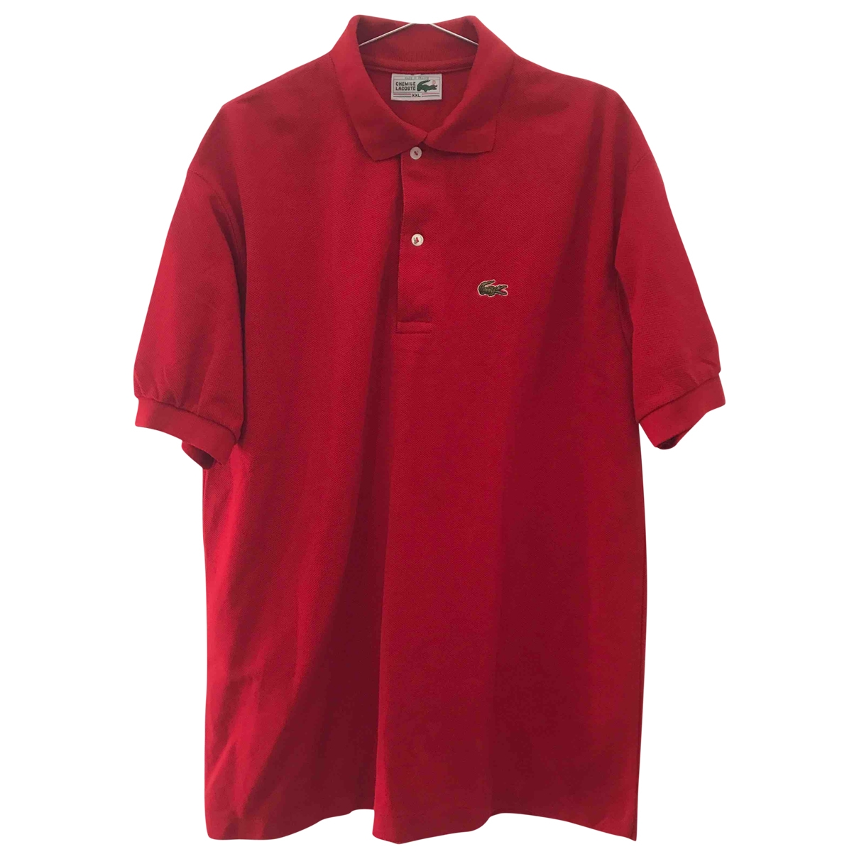 Lacoste \N Red Cotton Polo shirts for Men XXL International