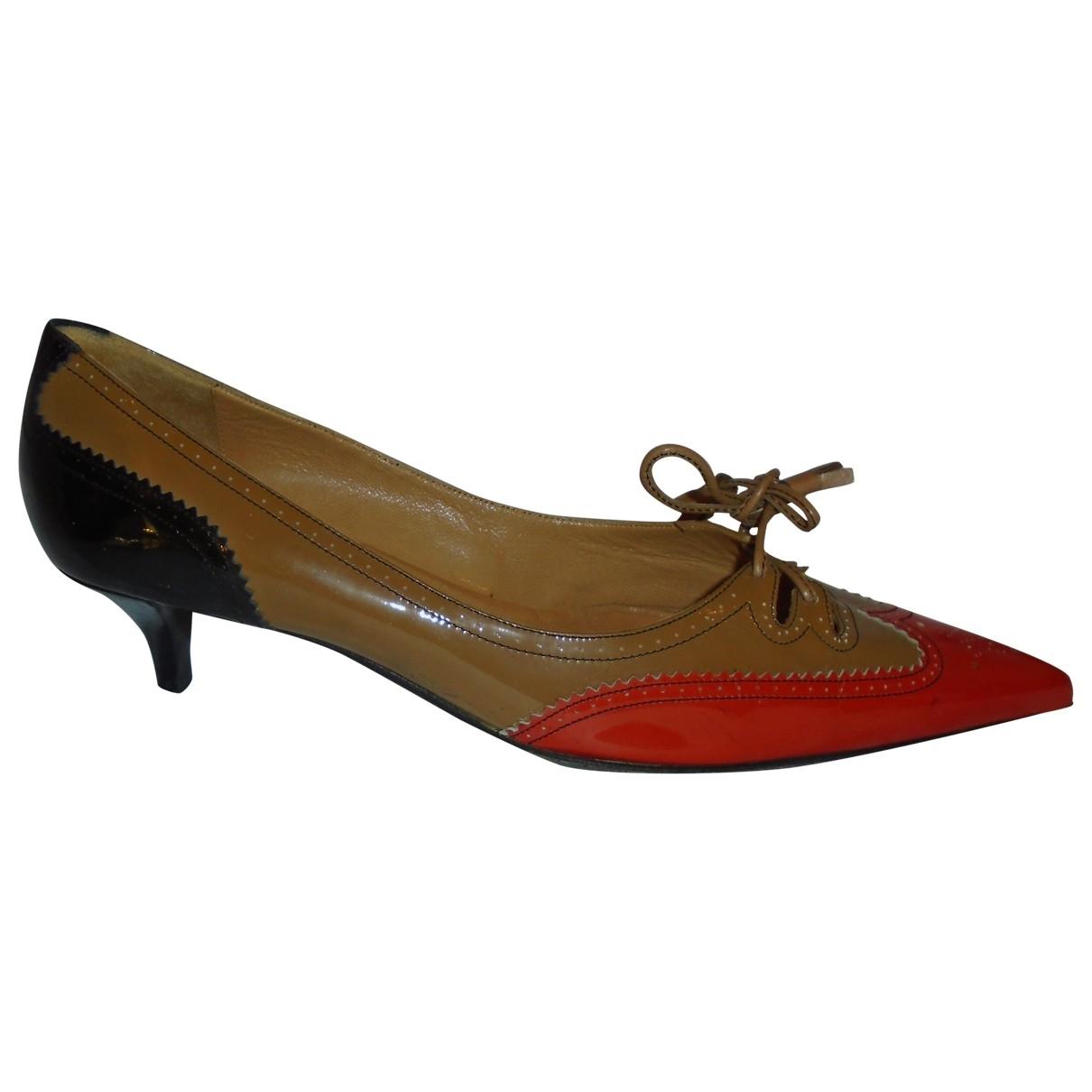 Hermès \N Multicolour Patent leather Heels for Women 38.5 EU