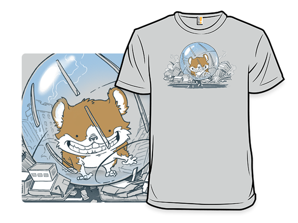 Hamster Of Dooom T Shirt