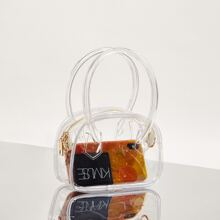 Clear Satchel Bag