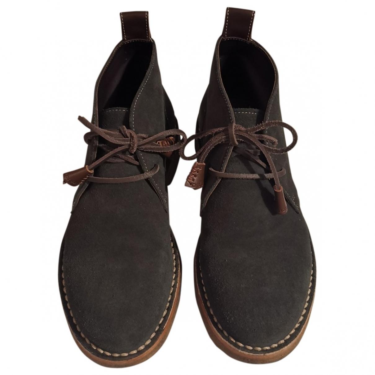 Dsquared2 - Boots   pour femme en suede - vert