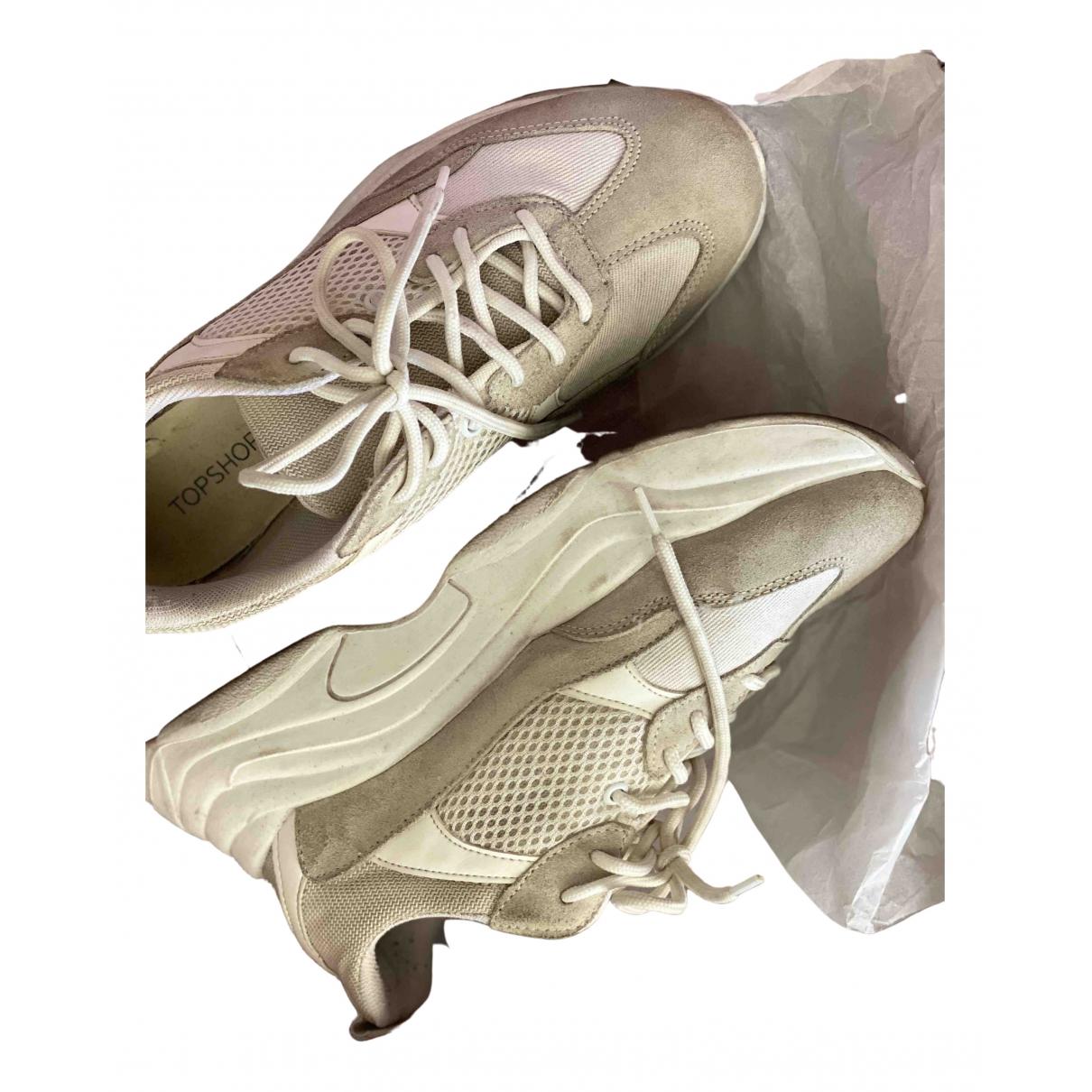 Tophop \N Sneakers in  Grau Veloursleder